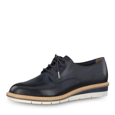 Kela low navy leather