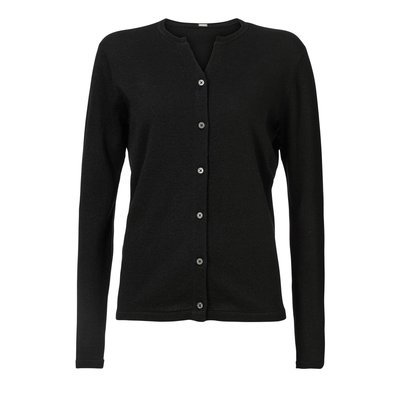 Lurex cardigan black