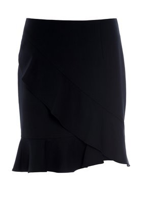York volang skirt navy