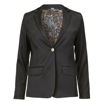 Shinny stretch blazer