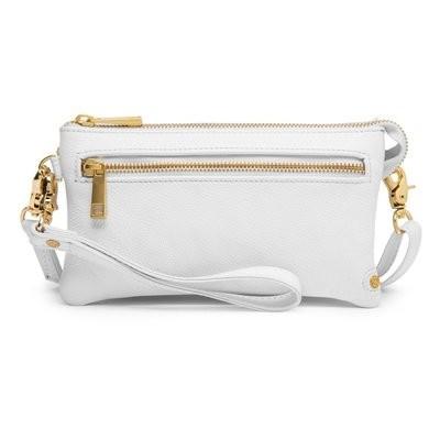Golden deluxe small bag white