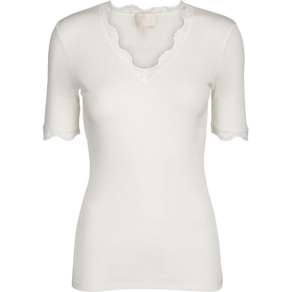 Ariel t-skjorte broken white