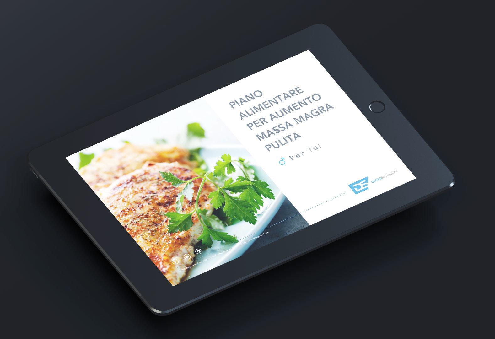 Piano Alimentare Massa Magra per LUI 00005