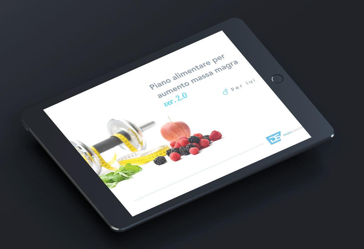 Piano Alimentare Massa Magra per LUI ver.02