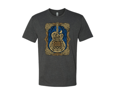 Emi Scroll Guitar Tee - PRESALE