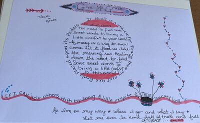 Hand Embellished Lyrics