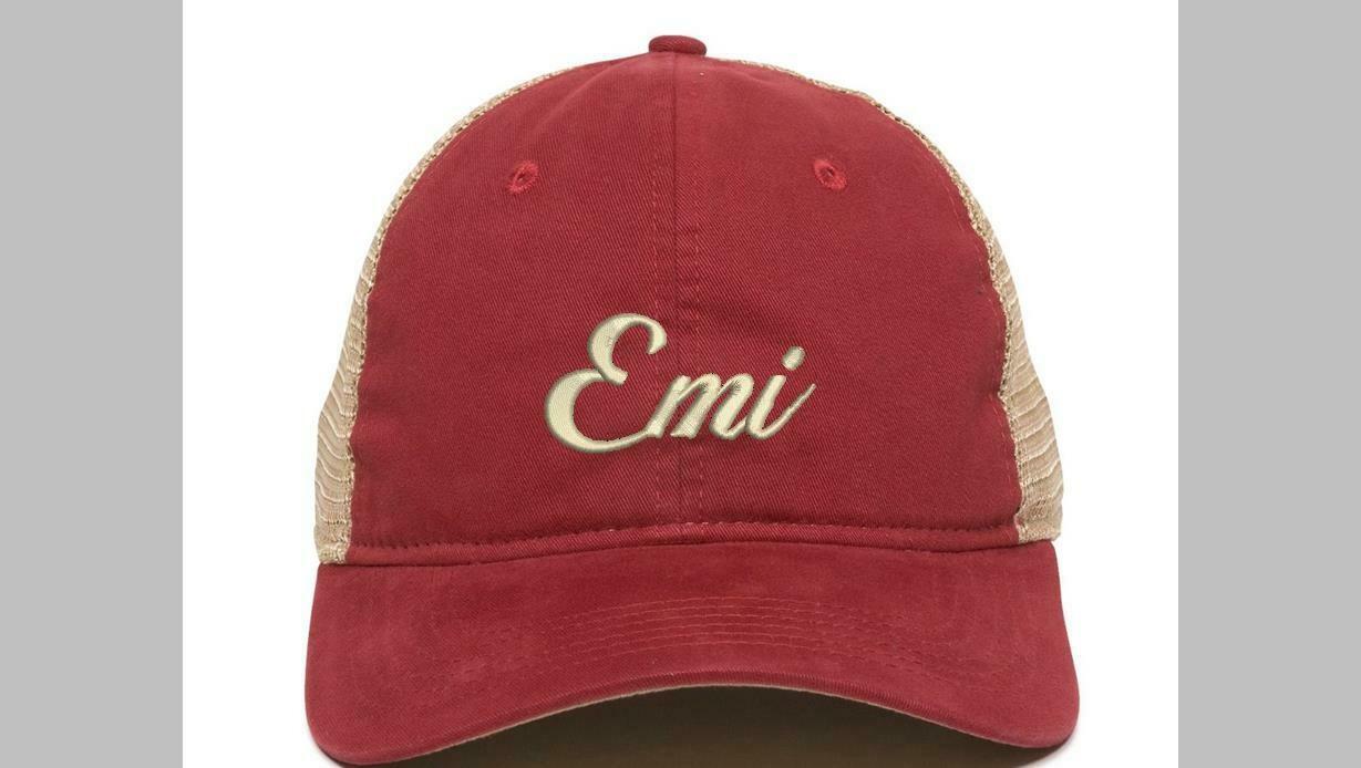 Emi Cardinal Tea Stain Cap