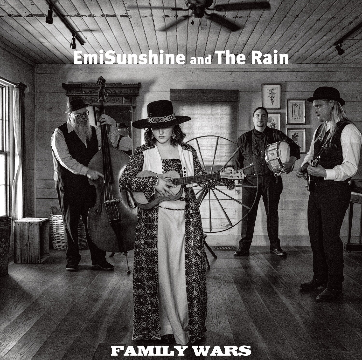 Family Wars (Brand New Signed CD)