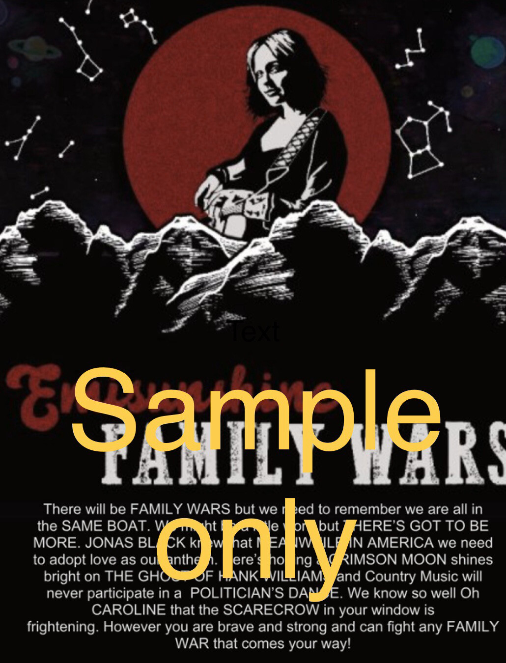 A Family Wars Poster