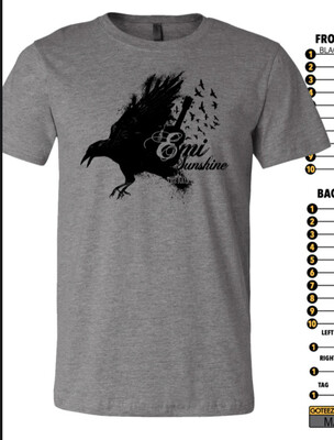 1. Presale Blackbird Shirt