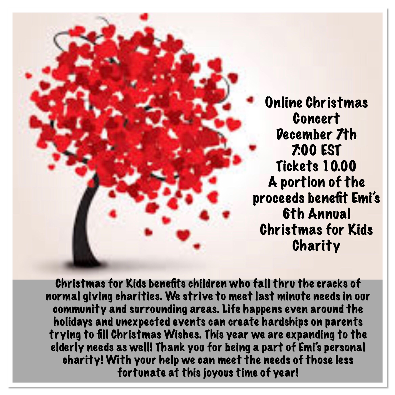 Online Christmas Concert Dec 7
