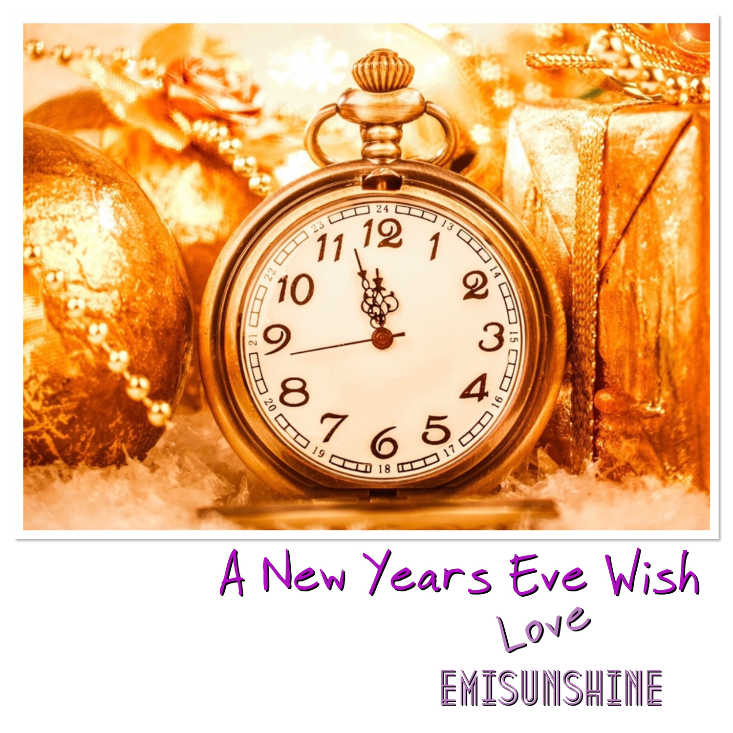 Personalized New Years Eve Video