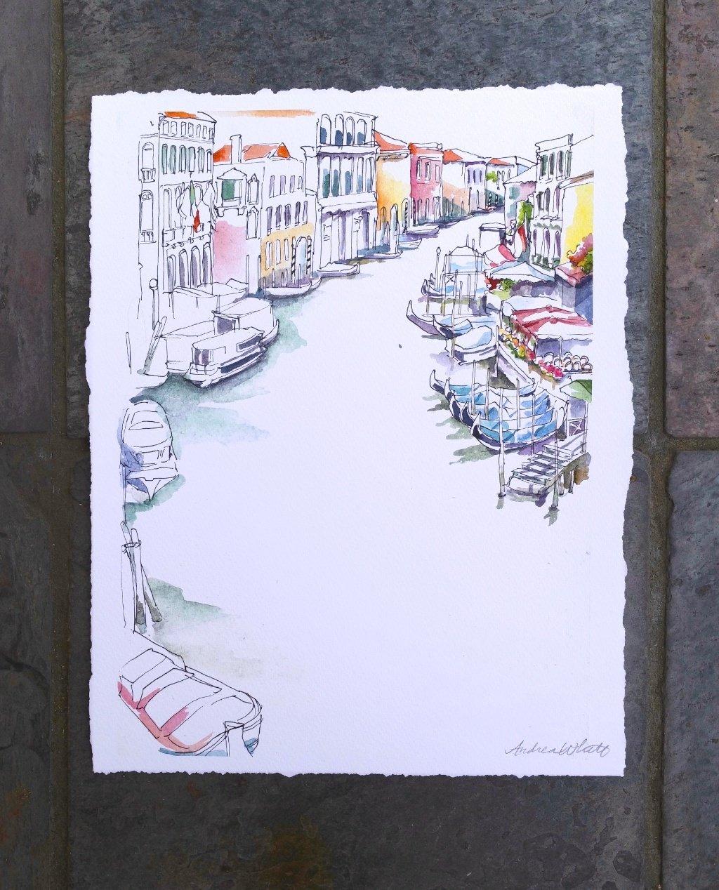 Venice Giclée Print 00010