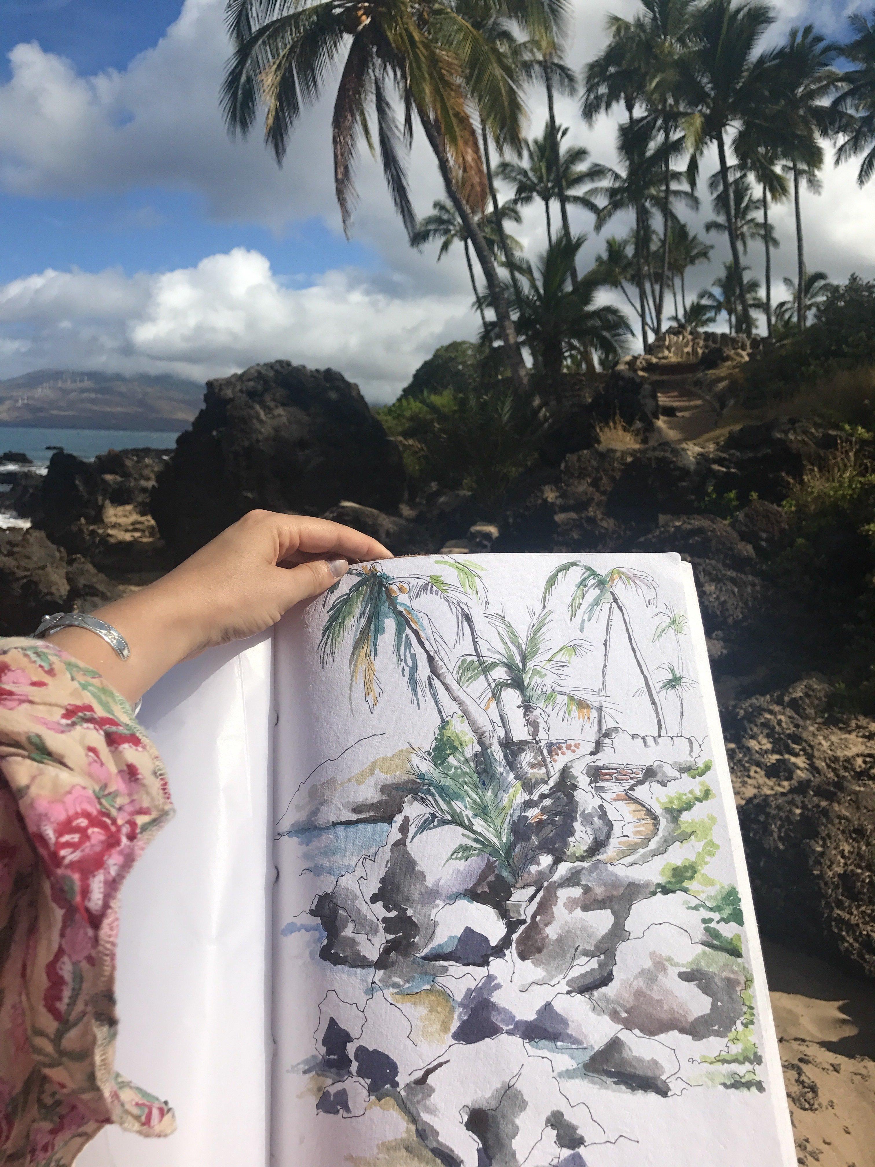 Maui Giclée Print 00011