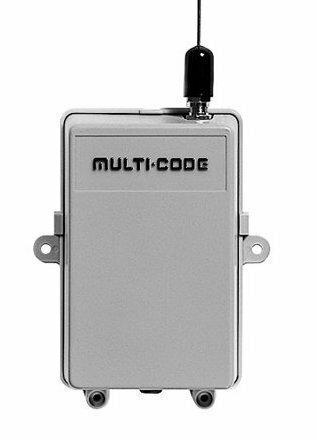 109920 300 Multi-Code Gate Receiver, 110vac, 300MHz
