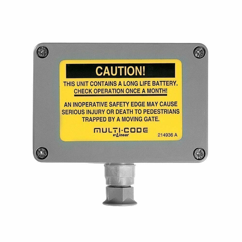 302210 Multi-Code Gate Safety Edge Transmitter, 300MHz