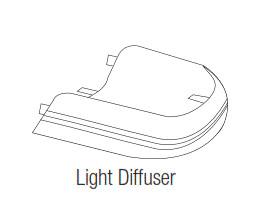 Wayne Dalton Light Lens Cover, 260552