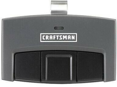 Sears Craftsman Three Button Visor Remote, 139.30498