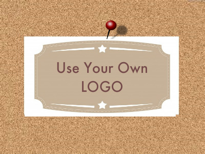 Add Your Logo - Iron on or Sew In - 100% Cotton Fabric Labels (White)