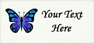 Blue Butterfly -