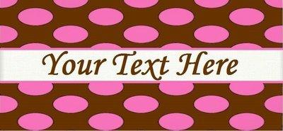 Pink Polka Dots -