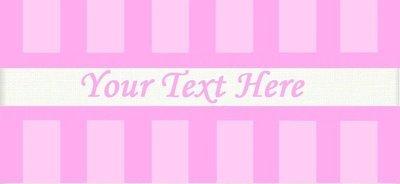 Pink Stripes -