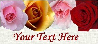 Rose Header -