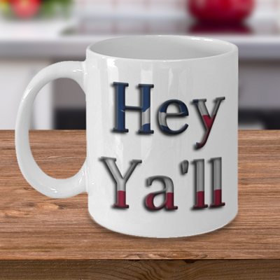 He Ya'll - Curse Mug - Coffee Cup Mug - Tea Mug - Ceramic Mug Gift - Coffee Lover - Gift for Crafty Friend