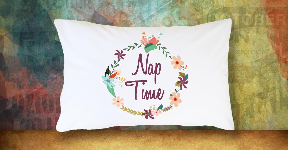 Nap Time - Standard Pillow Case/Customized Pillow Case/Personalized Pillow Case/Photo Pillow Case/Decor Pillow Case