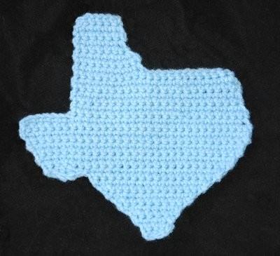 WTS: Texas Pot Holder - Hot Pad - Yarn Hookers
