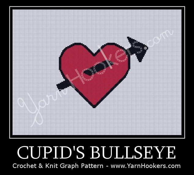 Cupid's Bullseye - Afghan Crochet Graph Pattern Chart by Yarn Hookers.com