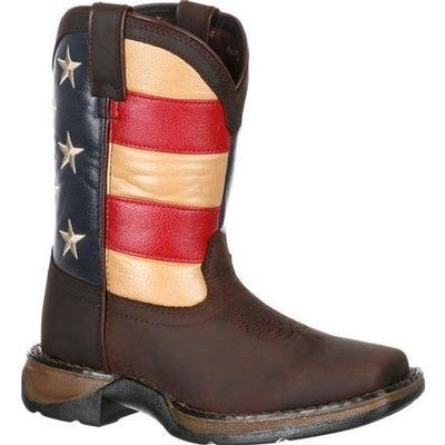 f9933a785ab3 LIL  REBEL BY DURANGO LITTLE KIDS  FLAG WESTERN BOOT