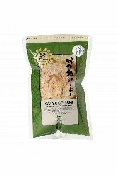 Katsuobushi Boniittihiutaleet   Bonito Flakes Katsuobushi   UMAMI   40 G