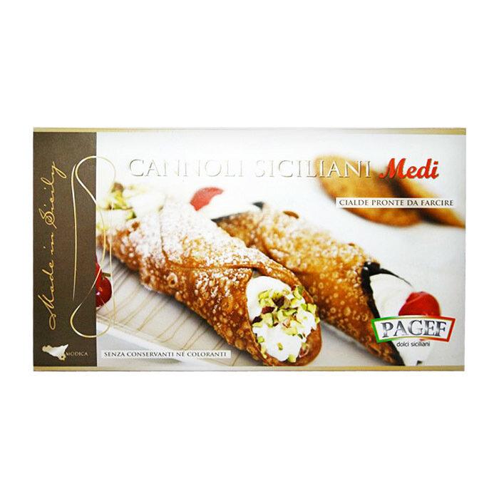 Cannoli Siciliani Medi (105 mm)   Cannoli Medi   PAGEF   250g