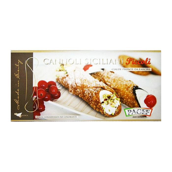 Cannoli Siciliani Mignon (80 mm) | Cannoli Mignon | PAGEF | 250g