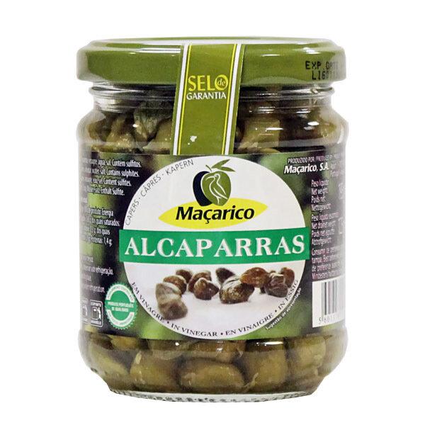 Kaprikset Etikassa | Capers in Vinegar | MACARICO | 195g (DNW 125g)