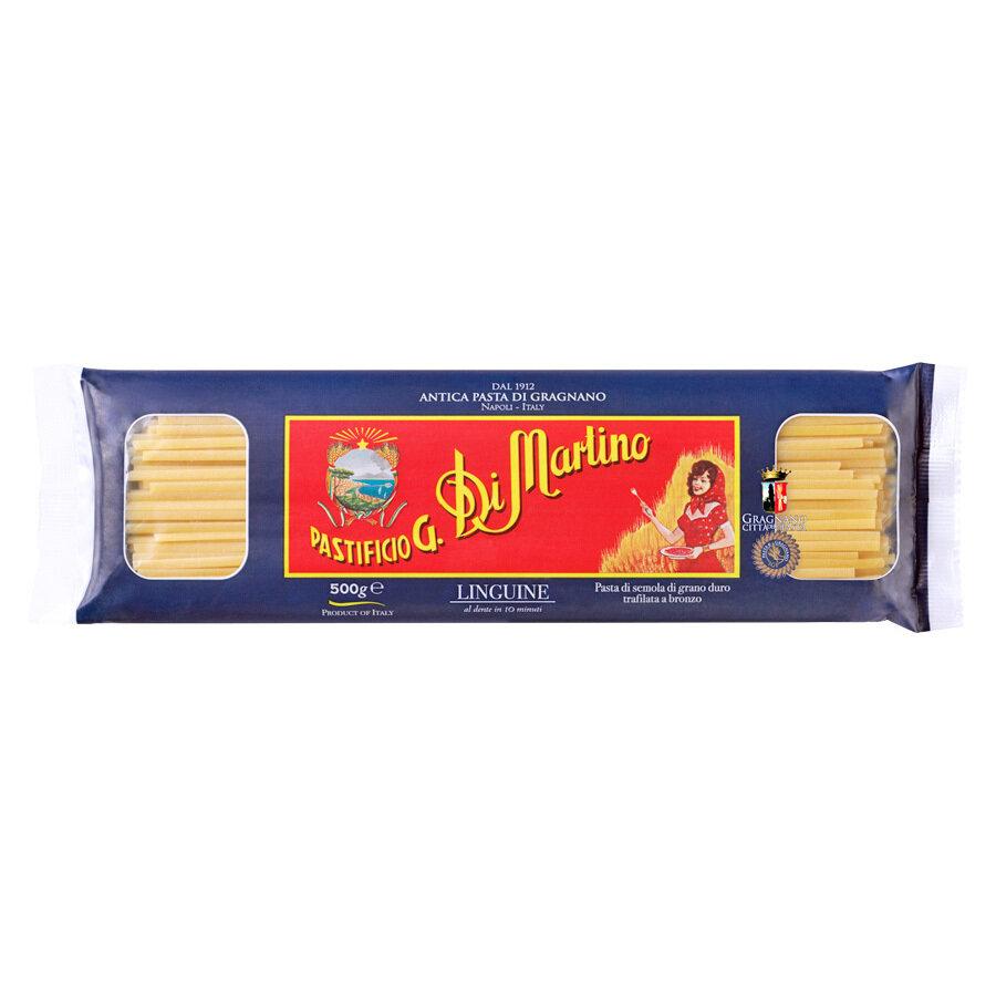 Pitkä Pasta Linguine | Long Shapes Pasta | DI MARTINO | 500 G