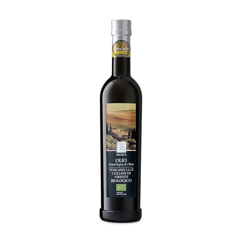 Luomu Ekstraneitsytoliiviöljy Toscana I.G.P. Colline Di Firenze   Organic Evoo Colline Di Firenze   PRUNETI   500 ML