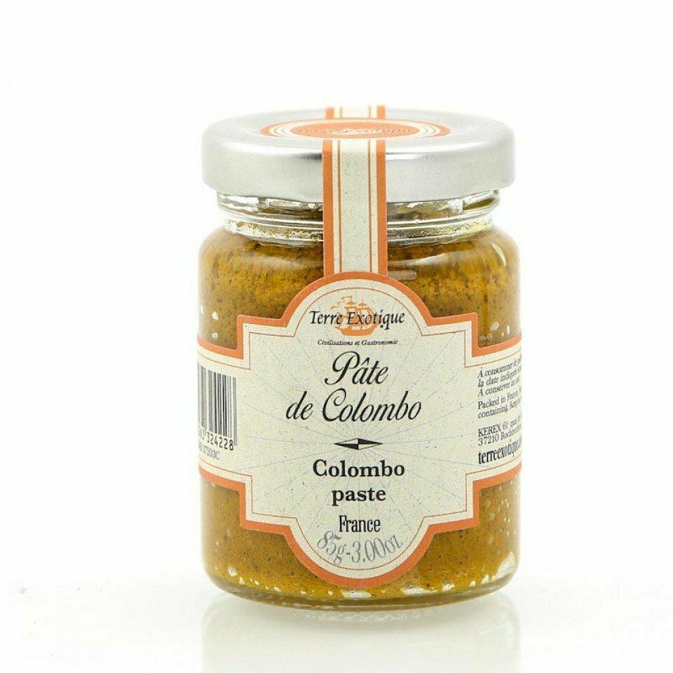 Colombo Tahna  (Îles Des Saintes)   Colombo Curry Paste   TERRE EXOTIQUE   85 G