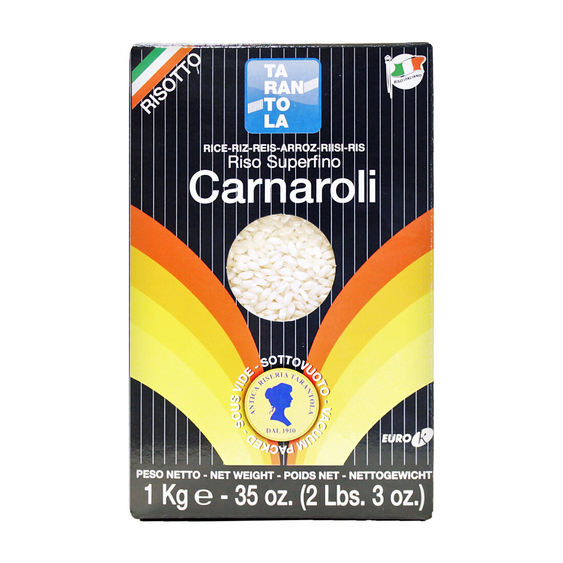 Carnaroli Riisi | Carnaroli Rice | TARANTOLA | 1 KG