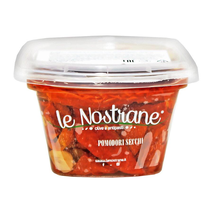 Marinoidut Aurinkokuivatut Tomaatit Öljyssä | Sundried Tomatoes Pickled In Oil | LE NOSTRANEN | 200 G