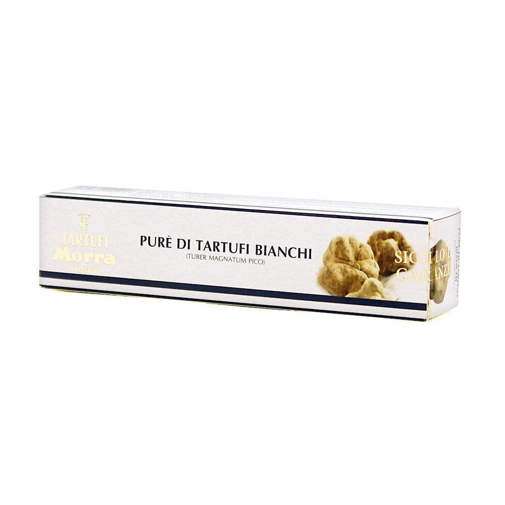 Valkotryffelitahna (Tuber Magnatum Pico) 71% | White Truffle Cream | TARTUFI MORRA | 25 G