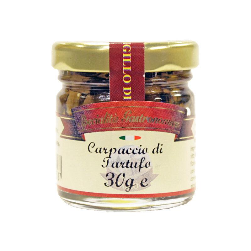 Viipaloidut Mustat Kesätryffelit Öljyssä   Sliced Black Summer Truffles In Oil   MARIO F.   30 G