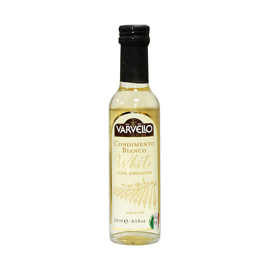 Valkoinen Balsamiviinietikka Golden Line | White Vinegar Golden Line | VARVELLO | 250 ML