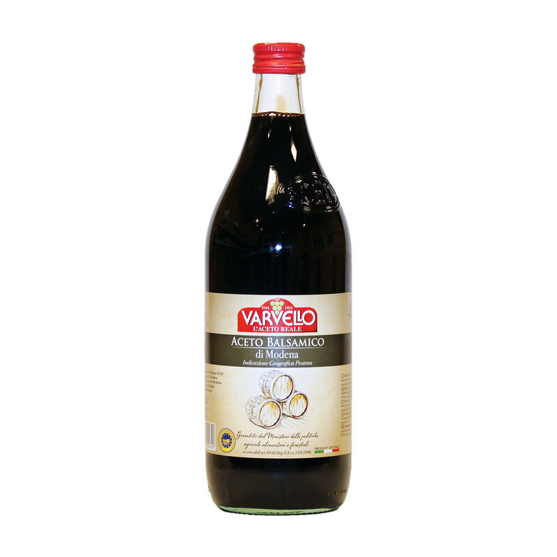 Balsamiviinietikka Modena (I.G.P.) Red Line | Balsamic Vinegar Red Line | VARVELLO | 1 L