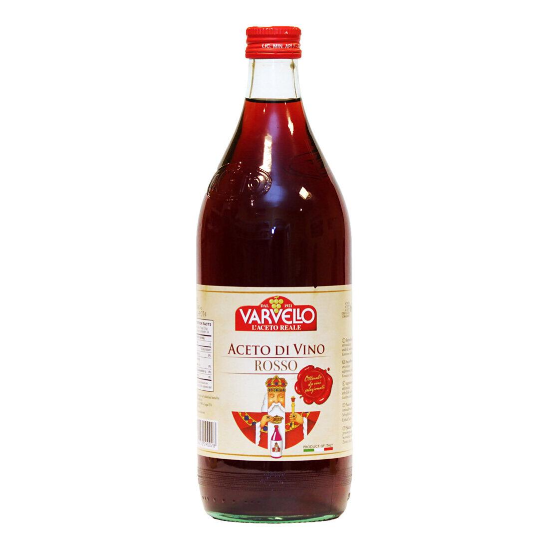 Piemonten Punaviinietikka | Piedmont Red Wine Vinegar | VARVELLO | 1 L