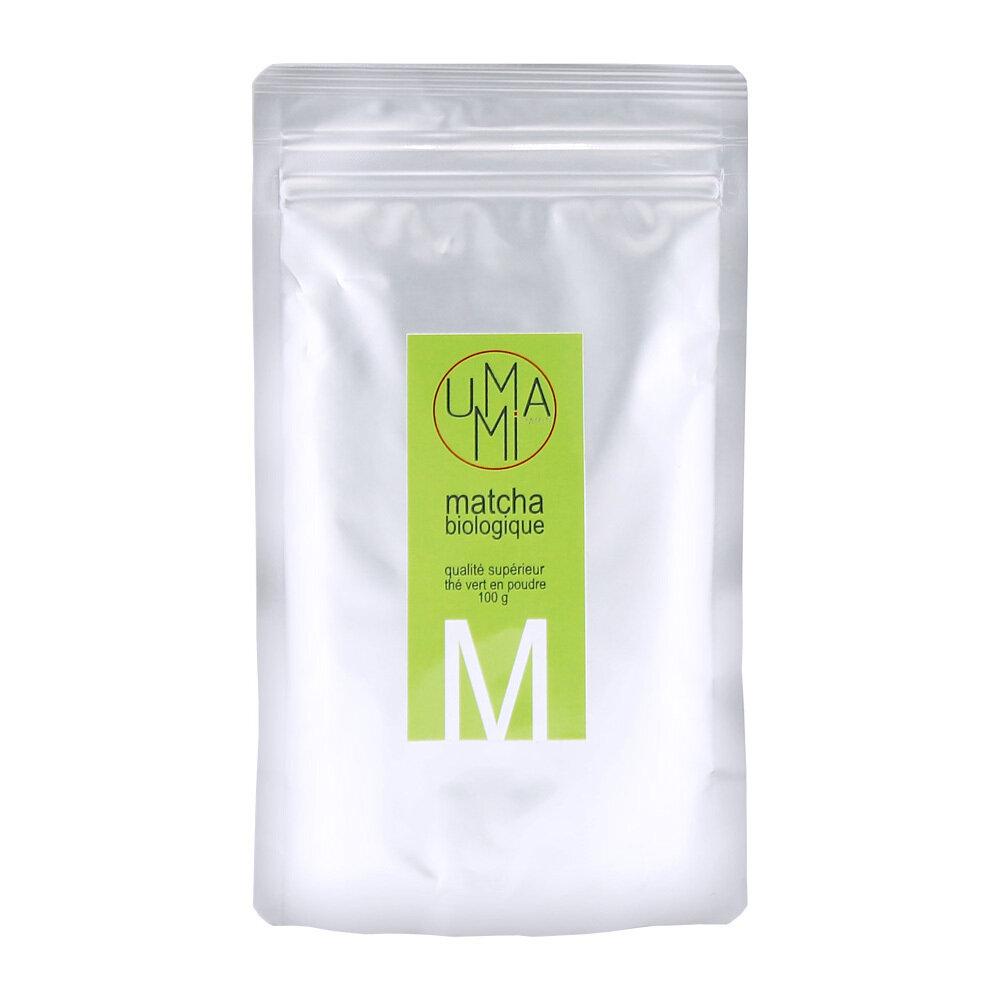 Luomu Superiot Matcha Vihreä Tee | Organic Superior Matcha Tea | UMAMI | 100 G