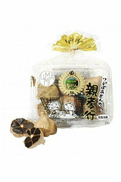 Aomori Musta Valkosipuli | Aomori Black Garlic | UMAMI | 150 G