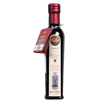Alkuperäinen Makea Vincotto-Etikkakastike (4 vuotta vahna) | Original Vincotto | CALOGIURI | 250 ML