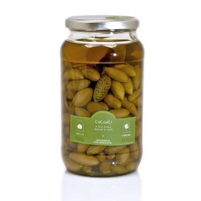 Kaprismarjat Ekstraneitsytoliiviöljyssä | Caper Berries In Evoo | LA NICCHIA | 950 G